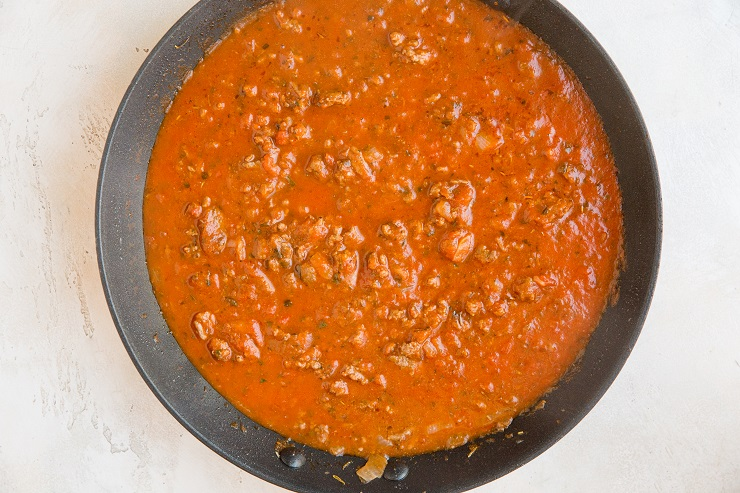 Meat sauce for baked ziti